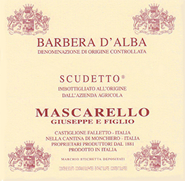 Barbera d'Alba Doc Scudetto - Mascarello