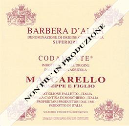 Barbera d'Alba Doc Superiore Codamonte - Mascarello
