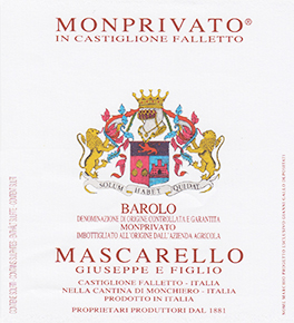 Barolo Docg Monprivato - Mascarello