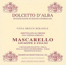 Dolcetto d'Alba Doc Bricco Vigna Mirasole - Mascarello