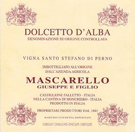Dolcetto d'Alba Doc Vigna Santo Stefano di Perno - Mascarello